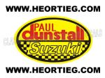 Paul Dunstall Suzuki Tank and Fairing Transfer Decal DDUN6-7